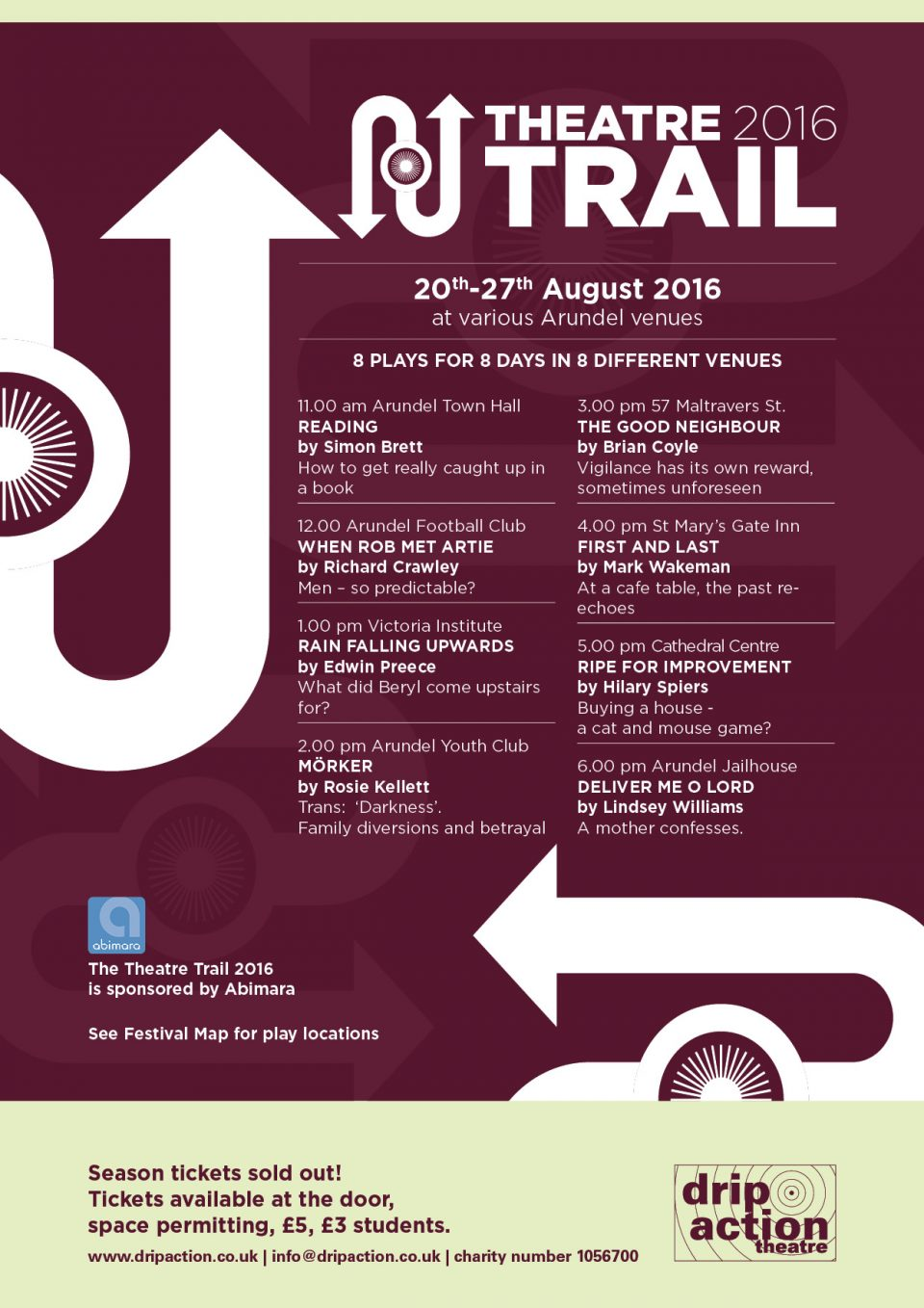 Drip Action Theatre Trail 2016